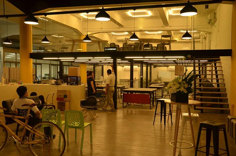 """在台湾所有大学之中,大同大学拥有最大的""""自造者空间"""" (Makerspace)。"""