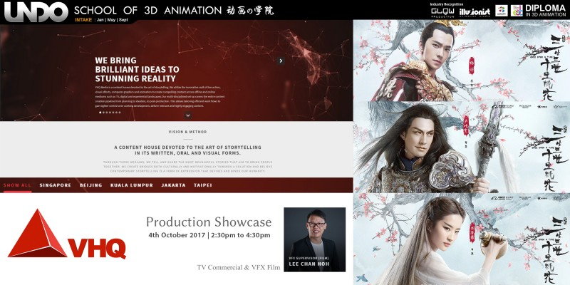 China movie VFX Workshop by VHQ Film Malaysia