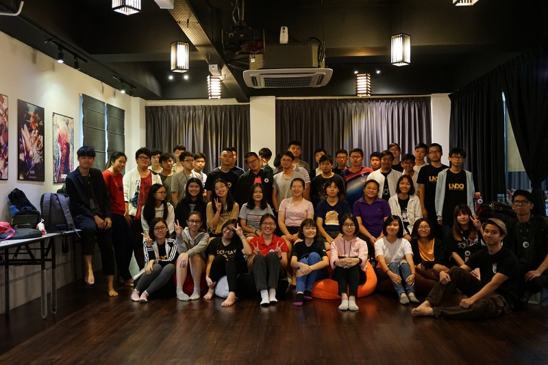 June 3 Days 2 Nights 3D Animation Game Camp Group Photo