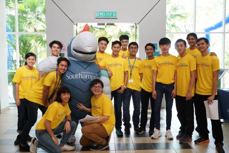 马来西亚南安普敦大学有超过15个社团和社团供学生参与