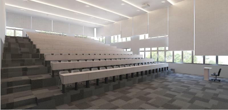 新的校园可容纳多达2,000名学生,并设有最先进的实验室,学习和娱乐场所设施