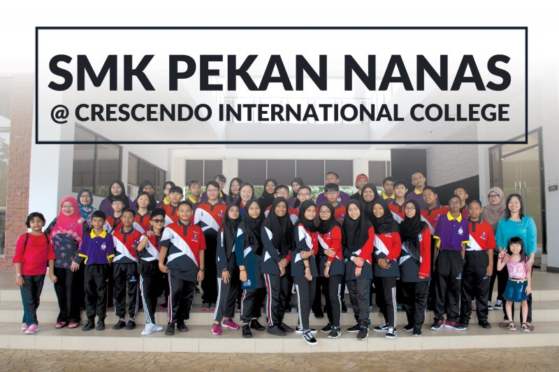 SMK Pekan Nanas Campus Tour on 14th Sept 2019