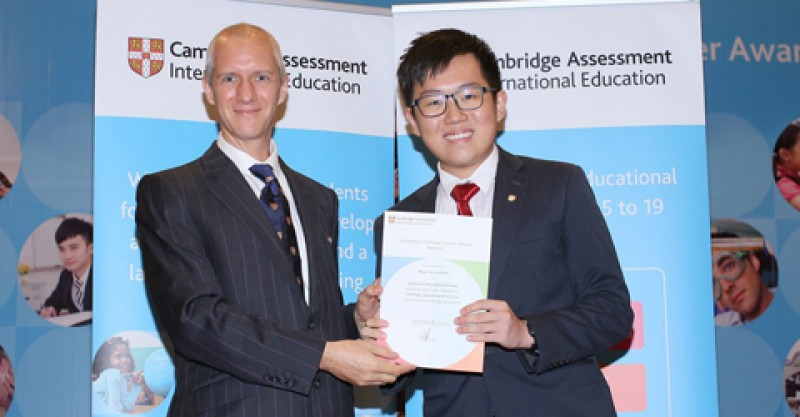 One of Crescendo's students, Shaun Lee, won the Malaysia Prize (Highest Mark in Malaysia) for Law in his A Level exam.