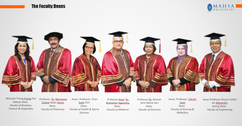 Faculty Deans