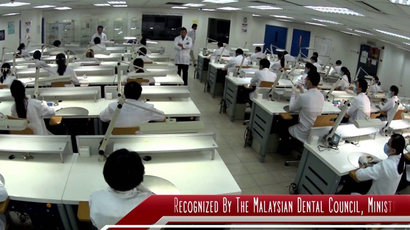 MAHSA University - Dental Lecture Room