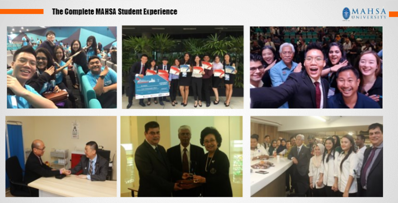 The complete MAHSA student experience