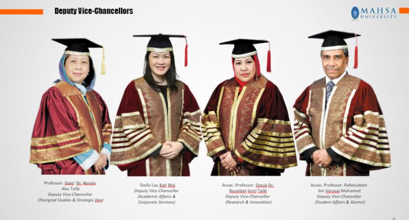 Deputy Vice Chancellors