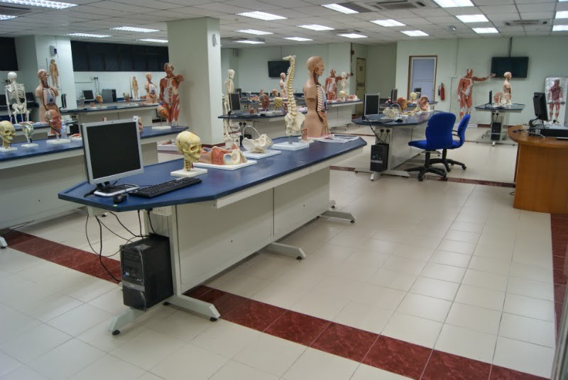MAHSA University Anatomy Laboratory